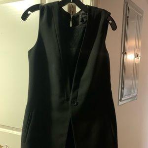 BCBG black short jumpsuit